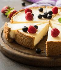 Cheesecake revisité - Lait du Forez