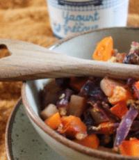 Compoté choux - Lait du Forez recette d'Adèle